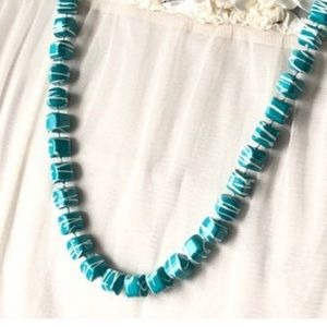 Square Beads 💝2/$20 Paint Splatter Necklace